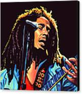 Bob Marley Canvas Print by Paul Meijering
