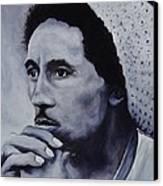 Bob Marley Canvas Print by Stefon Marc Brown