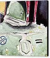 Boba Fett Canvas Print by David Kraig