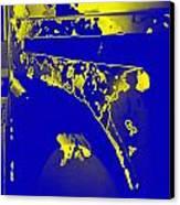 Boba Fett Helmet 5 Canvas Print