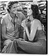 Bobbie Jo And The Outlaw  Canvas Print by Silver Screen