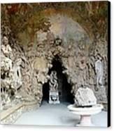 Boboli La Grotta Grande 3 Canvas Print by Ellen Henneke