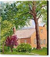 Bockrath-weise House Impressionistic Oil Painting Canvas Print