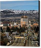 Boise Idaho Canvas Print by Robert Bales