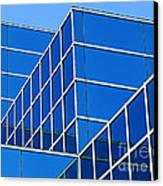 Boldly Blue Canvas Print