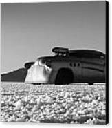 Bombshell Buick - Metal And Speed Canvas Print