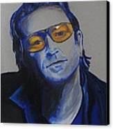 Bono U2 Canvas Print by Eric Dee