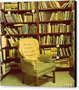 Bookstore Nook Canvas Print by Lorraine Heath