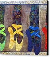 Born To Dance Canvas Print by Lynda K Boardman