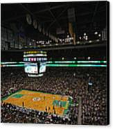 Boston Celtics Basketball Canvas Print by Juergen Roth