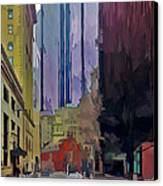 Boston City Centre 2 Canvas Print by Yury Malkov