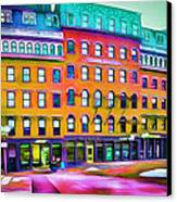 Boston Colors 1 Canvas Print by Yury Malkov