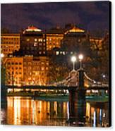 Boston Lagoon Bridge 2 Canvas Print