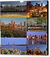 Boston Landmarks Photography  Canvas Print by Juergen Roth