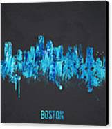 Boston Massachusetts Usa Canvas Print by Aged Pixel