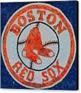 Boston Red Sox Canvas Print by Dan Sproul