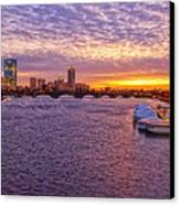 Boston Sky Canvas Print by Joann Vitali