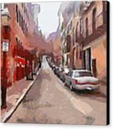 Boston Streets 1 Canvas Print by Yury Malkov