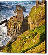 Botallack Canvas Print by Louise Heusinkveld