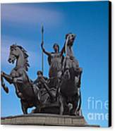 Boudicca Canvas Print by Pete Reynolds