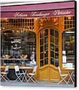 Boulangerie Canvas Print by A Morddel