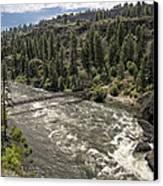 Bowl And Pitcher Area - Riverside State Park - Spokane Washington Canvas Print by Daniel Hagerman