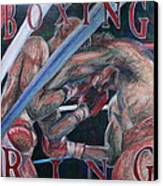 Boxing Ring Canvas Print