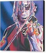 Boyd Tinsley Colorful Full Band Series Canvas Print