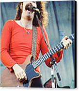 Brad Delp Of Boston-day On The Green 1 In Oakland Ca 5-6-79 1st Release Canvas Print