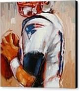 Brady Boy Canvas Print by Laura Lee Zanghetti