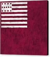 Brandywine Flag Canvas Print by World Art Prints And Designs