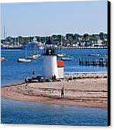 Brant Point  Canvas Print by Lorena Mahoney