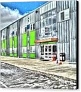 Brave New Elementary School Canvas Print by MJ Olsen