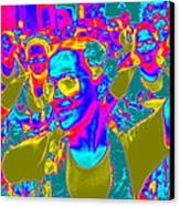 Brazilian Carnival Canvas Print by Arie Arik Chen