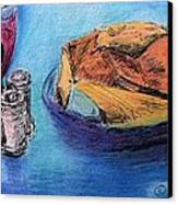 Bread And Wine Canvas Print