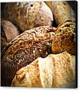 Bread Loaves Canvas Print by Elena Elisseeva