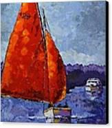 Breaking Storm Canvas Print by Vickie Warner