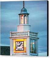 Brecksville Clock Tower Canvas Print by Jenny Ellen Photography