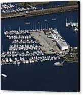 Brewer Yacht Yard, Mystic Canvas Print