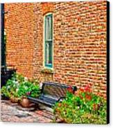 Brick Alley 3 Canvas Print by Baywest Imaging