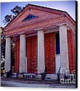 Brick Church Canvas Print