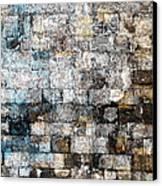 Brick Mosaic Canvas Print by Stephanie Grant