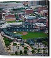 Bricktown Ballpark D Canvas Print by Cooper Ross