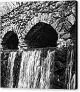 Bridge Water Canvas Print by Kenneth Feliciano