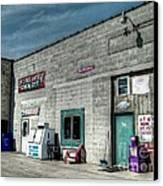 Bridgewater Depot Canvas Print