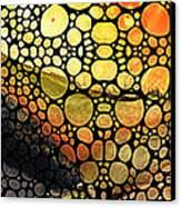 Bridging The Gap - Stone Rock'd Art Print Canvas Print by Sharon Cummings