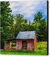 Bright Wood Shed Canvas Print by Jason Brow