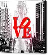Brightest Love Canvas Print by Bill Cannon