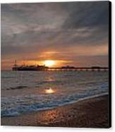 Brighton Pier Canvas Print by Jacqui Collett