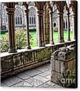 Brittany Cloister  Canvas Print